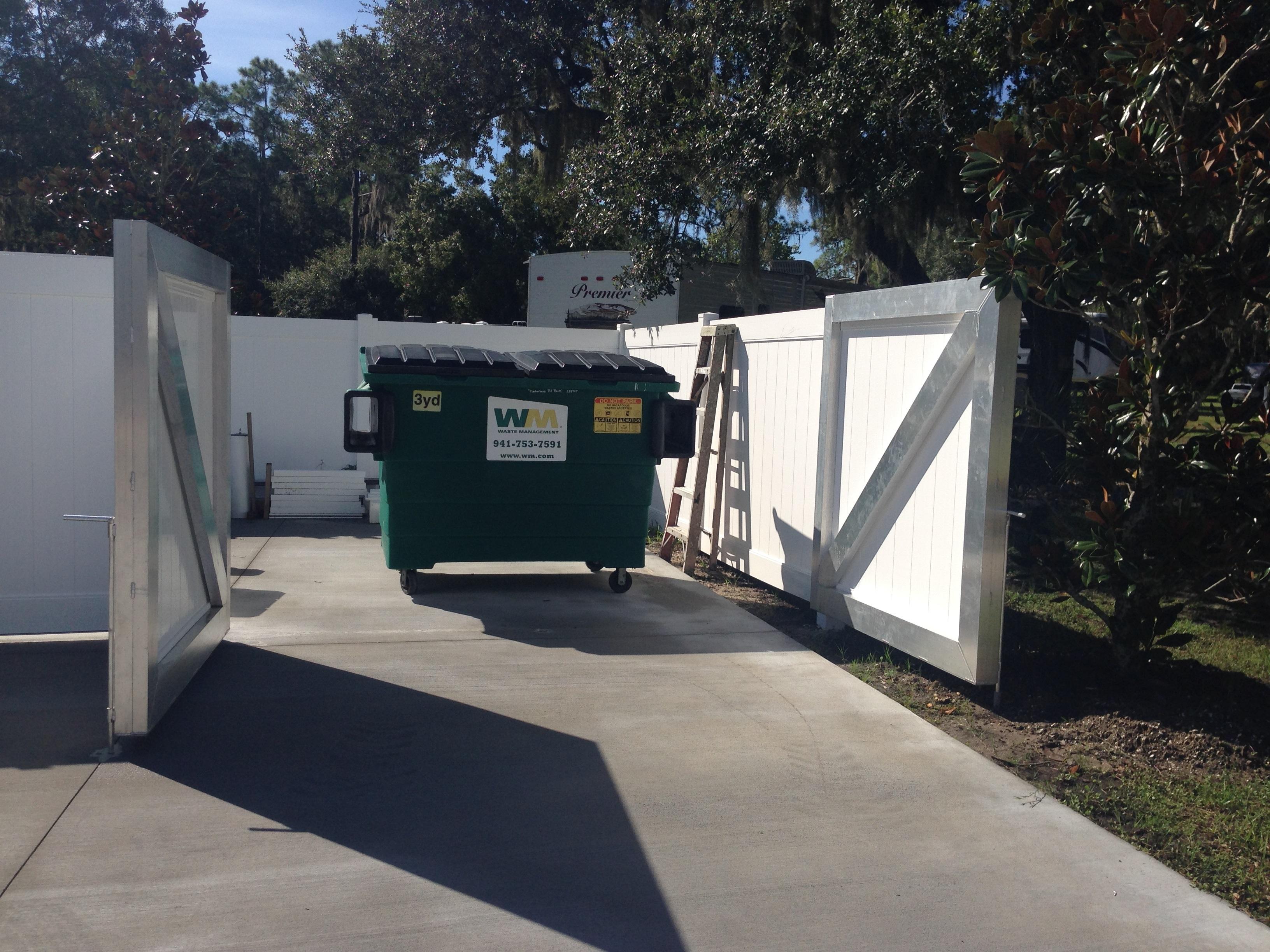 New Dumpster Timberlane Rv Park And Resort